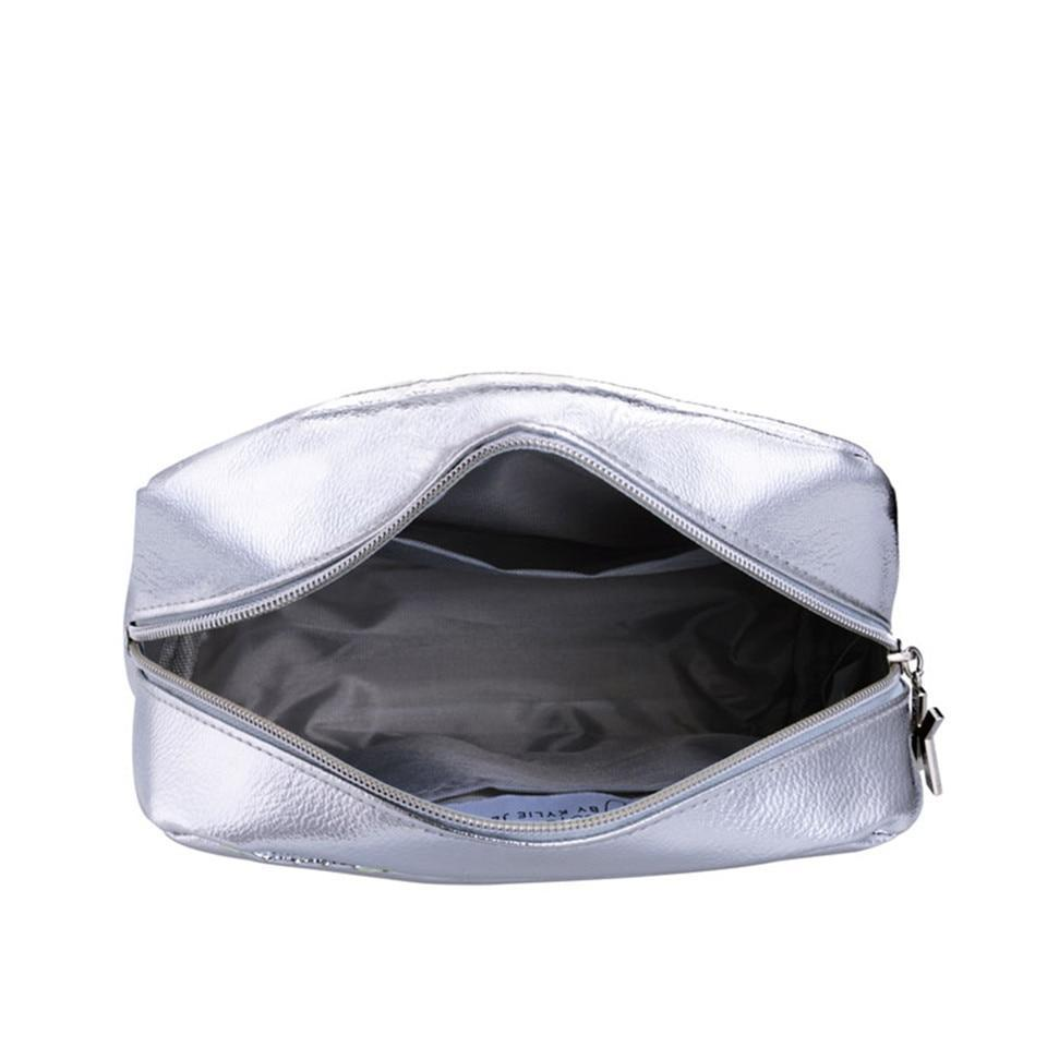 Metallic Lips Makeup Pouch