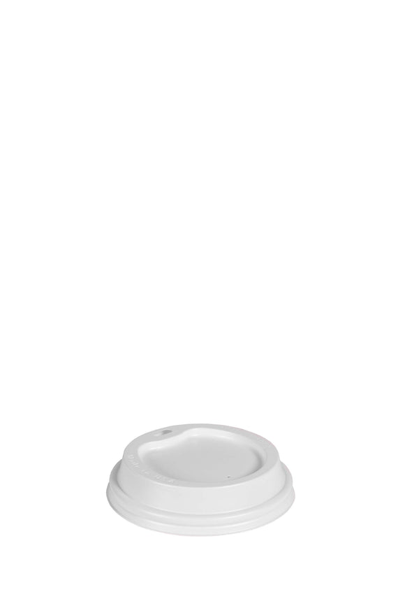 12-24oz White Gourmet Lid (90mm)
