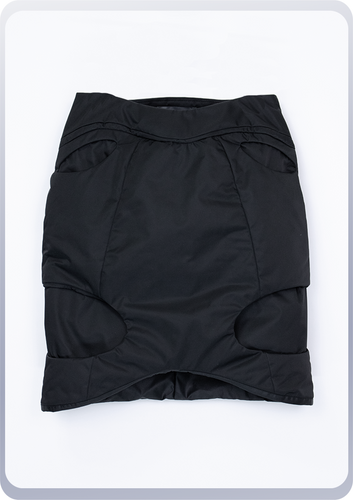 [先行受注 前金30%] 00FORM TIGHT SKIRT / black