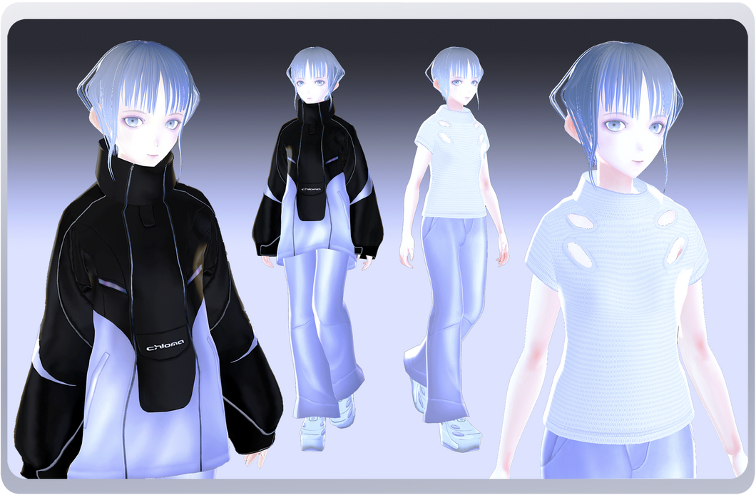 [AVATAR WEAR] 'CELLULAR' SET