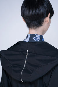 [先行受注 前金100%] SAILOR HOOD JACKET / black
