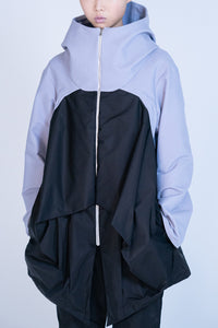 [先行受注 前金30%] NF COMPLEX PARKA / bluepurple×black