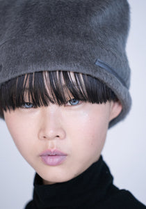 [先行受注 前金30%] REFLECT FURRY CAP / gray