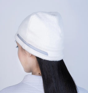 [先行受注 前金30%] REFLECT FURRY CAP / white