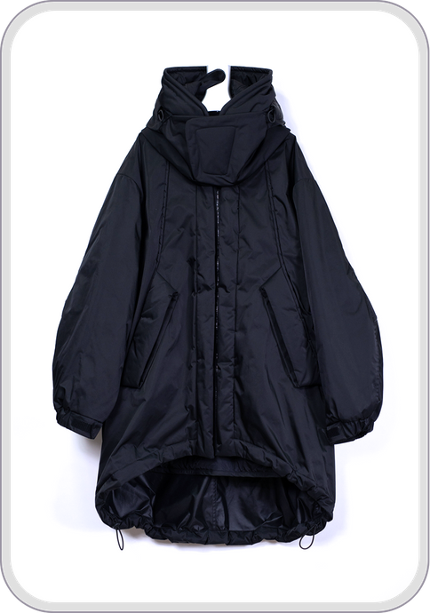 [再販] SHELTER COAT / black