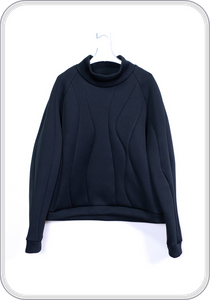 "CPP PULLOVER ""water"" / black"