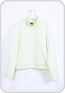 "CPP PULLOVER ""water"" / iceyellow"