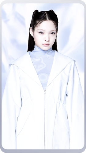 [先行受注 前金100%] SAILOR HOOD JACKET / white