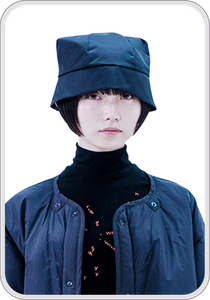 [ONLY ANDREW] CYLO FURRY HAT / black
