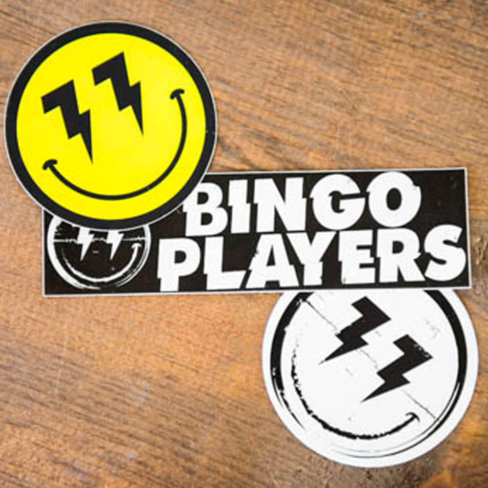 Bingo Players - Stickers