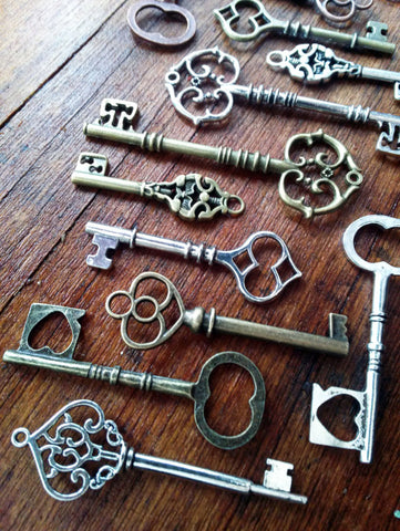 Assorted Skeleton Keys