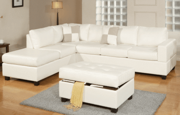 White Sofas, Couches and Lounges
