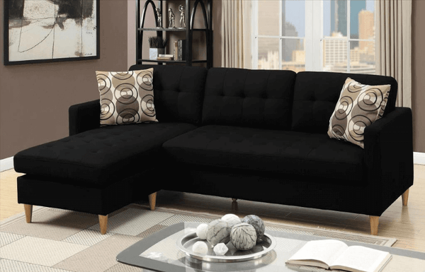 Black Sofas, Couches and Lounges