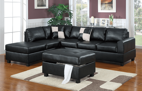Black-Langton-Bonded-Leather-Sofa-Chaise-Sofas