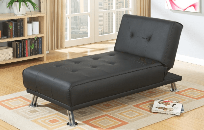 Boscombe Adj Chaise in Black