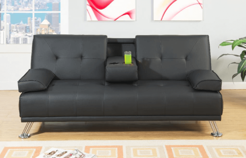 Boscombe Adj Sofa in Black