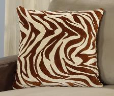 Ferndown Cushion in Zebra Print