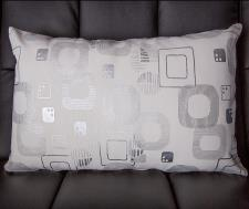 Holme Long Cushion in White