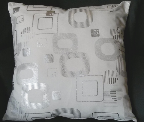 Holme Square Cushion in White