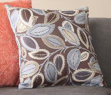 Oakford Cushion Floral Blue