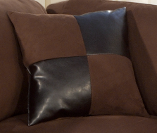 Wexford Cushion in Chocolate