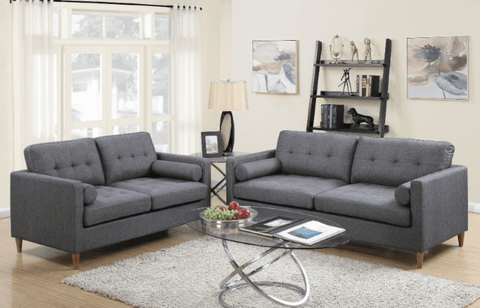 Arne Sofa Suite in Ocean Grey