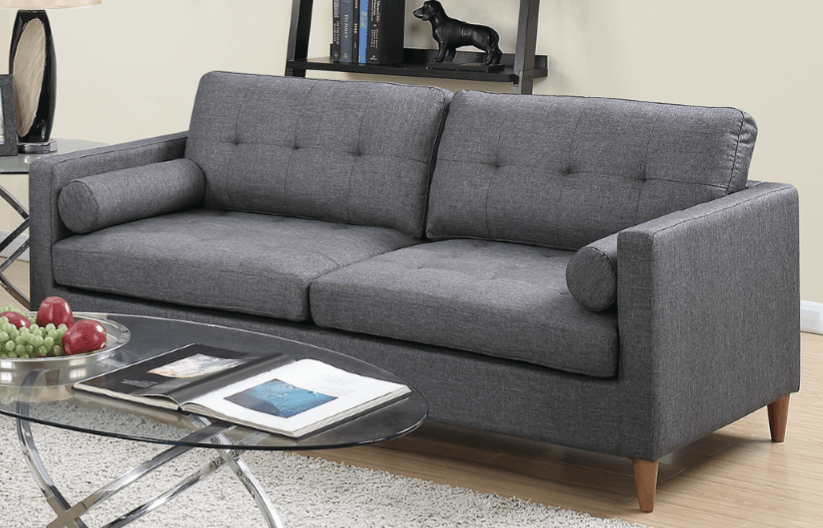 Arne Three Seat Sofa in Ocean Grey