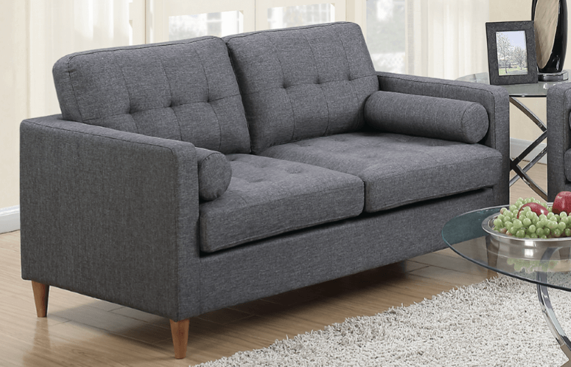 Arne Two Seat Sofa in Ocean Grey