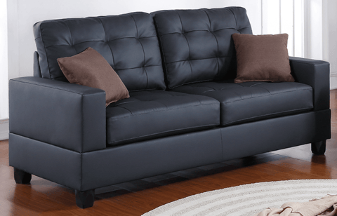 Broadstone Sofa Suite in Black