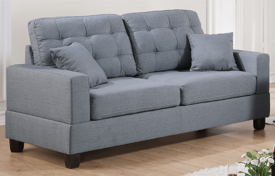 Broadstone Family Sofa in Pewter