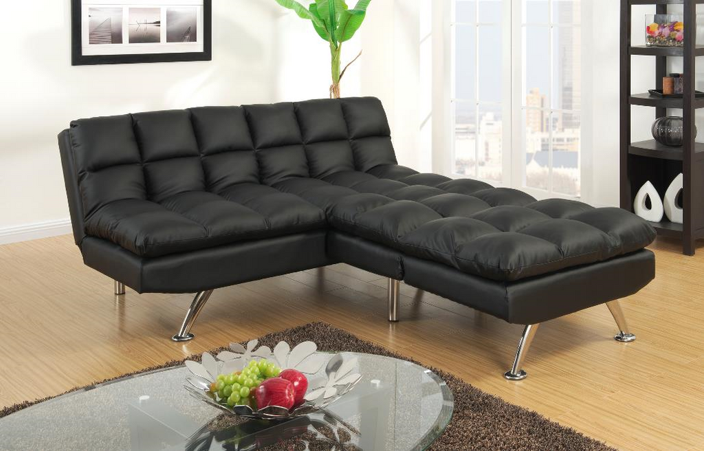 Chalbury Adj Sofa Set with Chaise Black