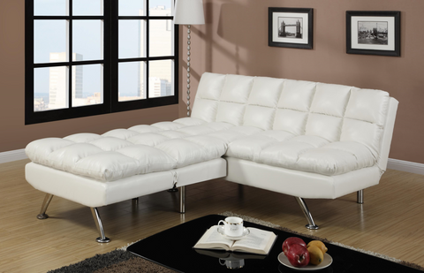 Chalbury Adj Sofa Set White