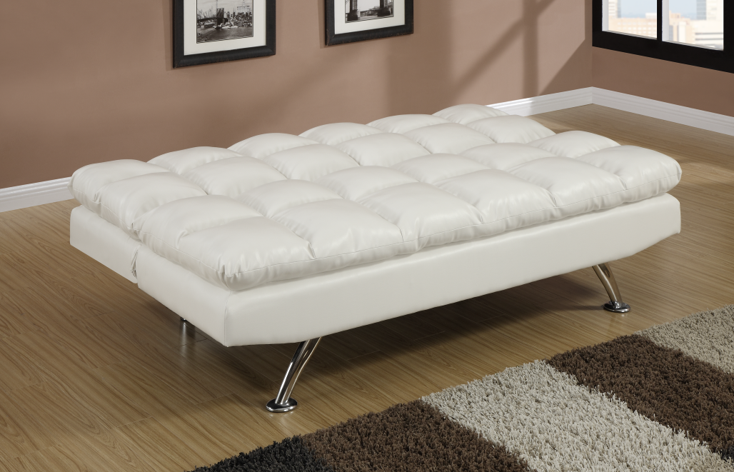 Chalbury White Adjustable Sofa Bed Chaise Sofas Perth
