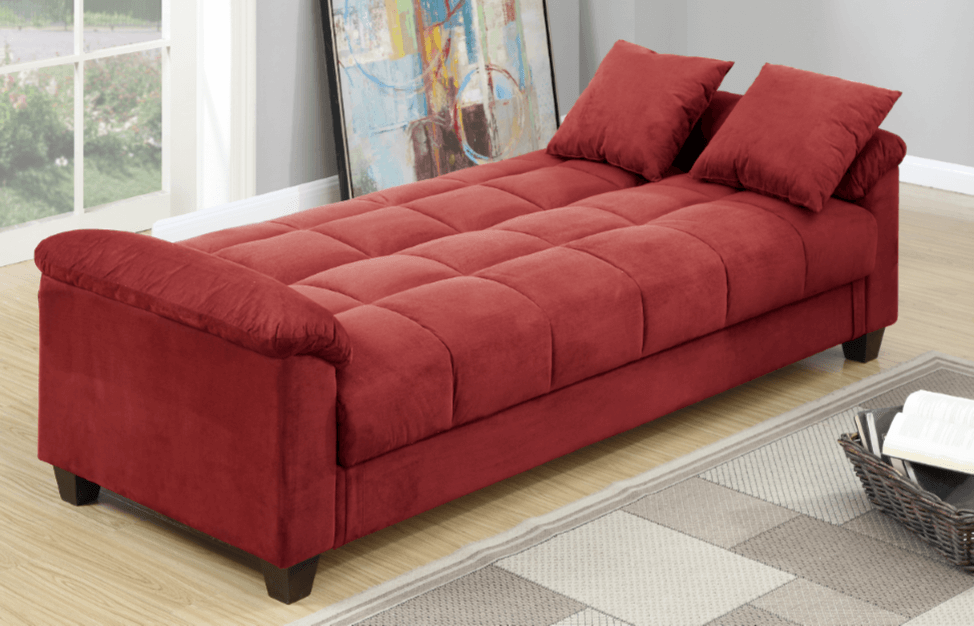 Kimmeridge Adj Sofa Bed Crimson