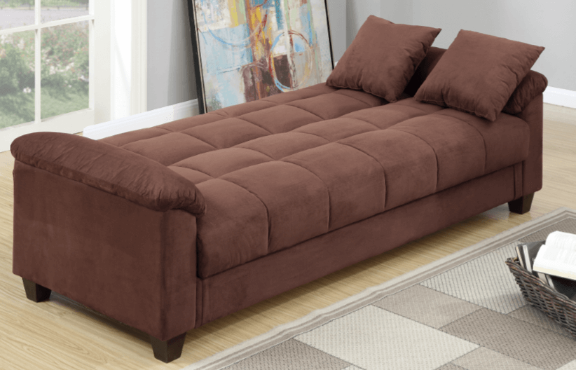 Kimmeridge Adj Sofa Bed Chocolate