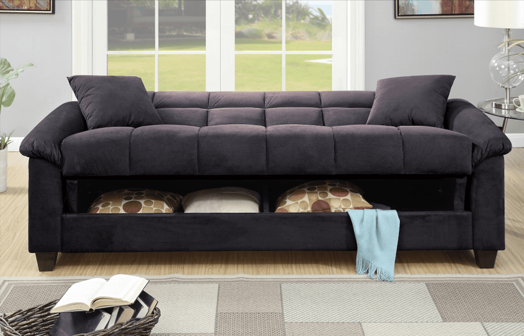 Kimmeridge Adj Sofa Graphite Storage