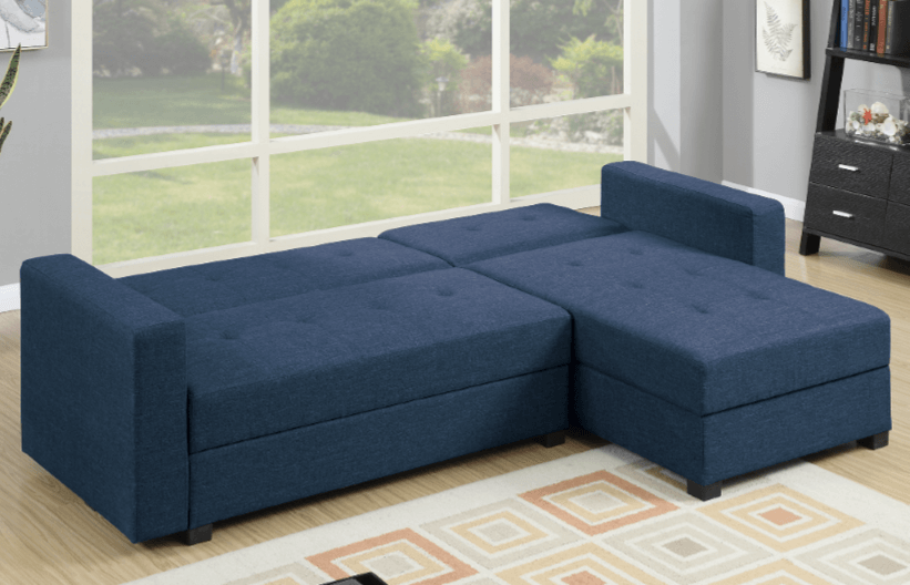 Littlemoor Adj Chaise Sofa Royal Blue Bed