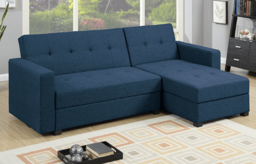 Littlemoor Adj Chaise Sofa Royal Blue RHF