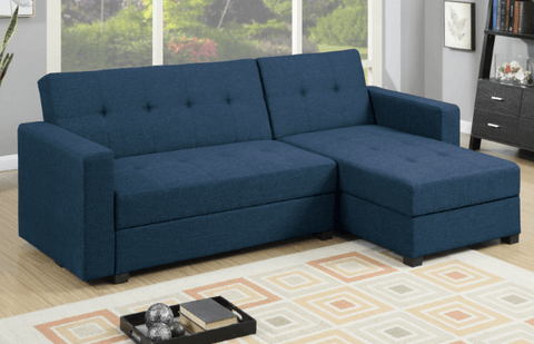 Littlemoor Adj Chaise Sofa Royal Blue LHF