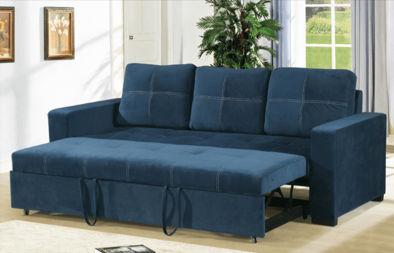 Littlemoor Convertible Sofabed in Blue