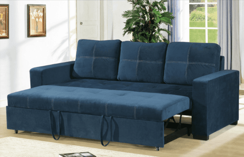 Littlemoor Convertible Sofa in Blue