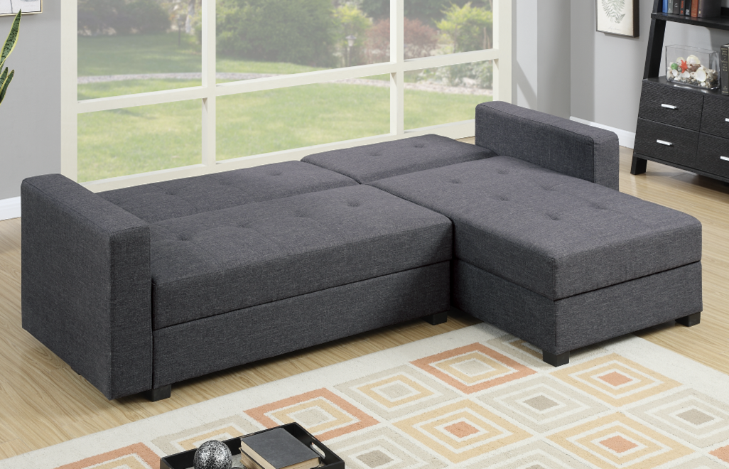 Littlemoor polyfibre adj chaise sofa bed from chaise sofas for Divan vs chaise