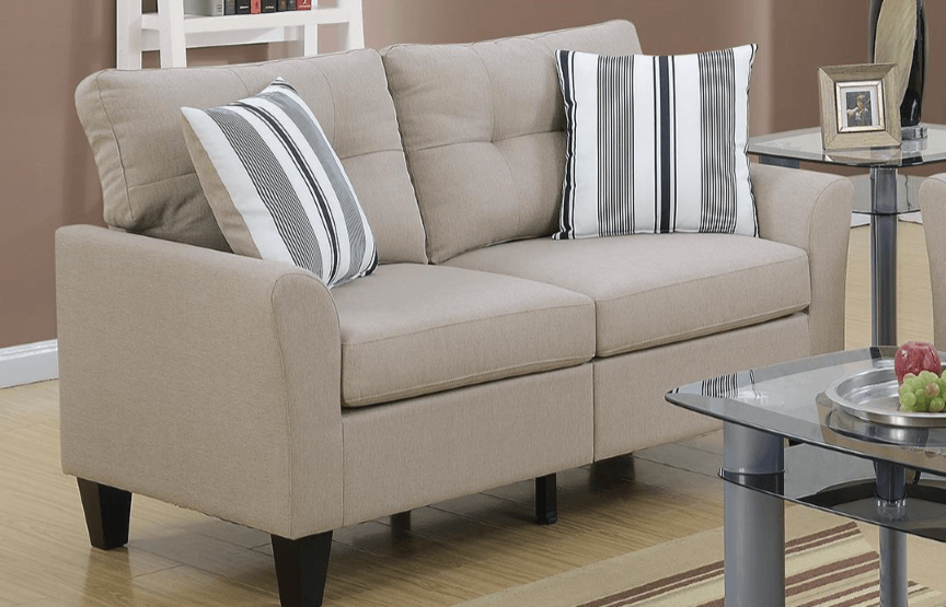 Melbury Two Seat Sofa in Latte