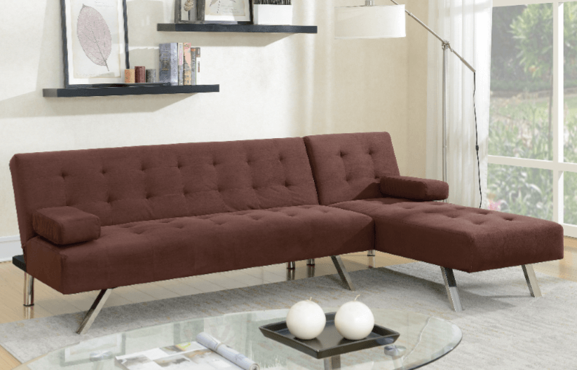 Moreton Adj Chaise Sofa Chocolate RHF