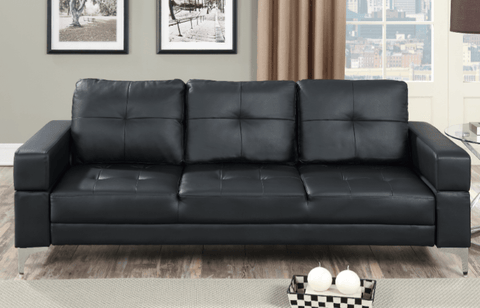 Moreton Adjustable Sofa in Black