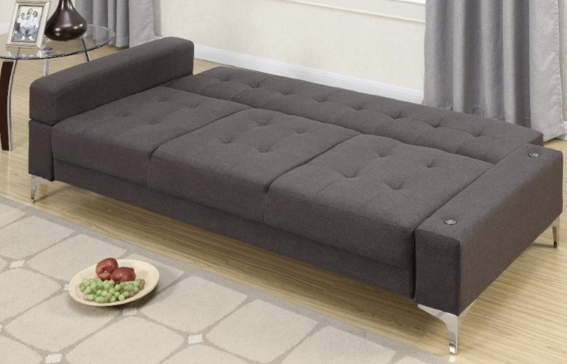 Moreton Adjustable Sofabed in Ocean Grey