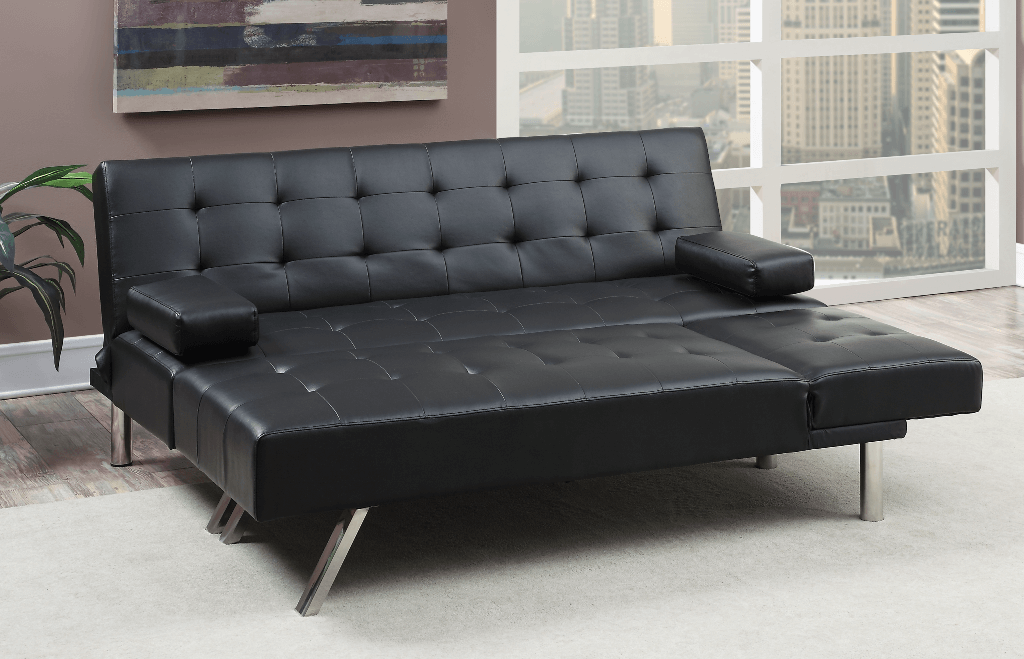Moreton Adj Sofa Black Wide