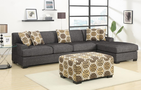 Sandford Family Chaise Sofa Ash