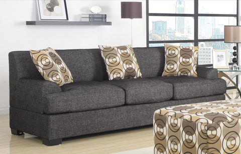 Sandford Three Seat Sofa Ash