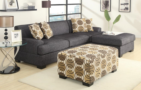 Sandford Studio Chaise Sofa Ash